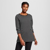 Women's Striped Structured Tunic - Merona