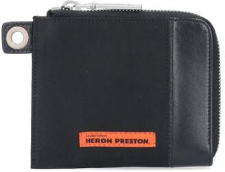 Heron Preston Logo Patch Wallet