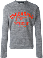 DSQUARED2 Phys Ed sweatshirt - men - Cotton - S