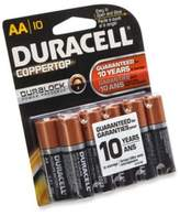 Duracell Coppertop 10-Pack AA Batteries
