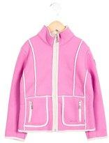 Bogner Girls' Lightweight Mock Neck Jacket