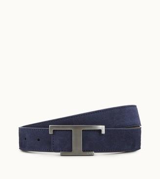 Tod's T Buckle Belt
