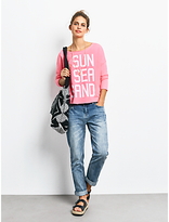 Hush Sun Sea Sand Sweat Top, Neon Pink