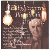 """Ohio Wholesale 38117 - 10"""" x 10"""" x .75"""" - """"Enlightenment"""" Battery Operated LED Lighted Canvas (Batteries Not Included)"""