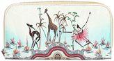 Etro Safari Printed Coated Canvas Zip Wallet