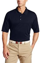 PGA TOUR Men's Big-Tall Short Sleeve Airflux Solid Polo Shirt