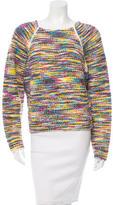 Chloé Wool-Blend Bouclé Sweater