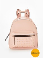 Very Festival Backpack With Rose Gold Stud Trim