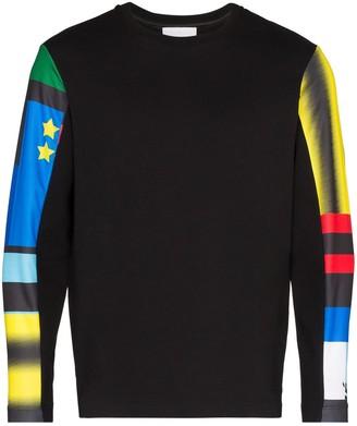 Koché Printed Sleeve Boxy Sweatshirt