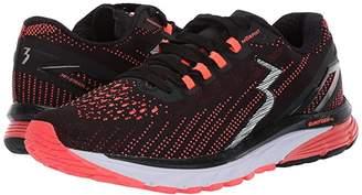 361 Degrees Strata 3 (Black/Hazard) Women's Shoes
