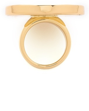 House Of Harlow White Sand Medium Sunburst Ring