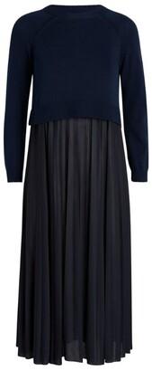 Max Mara Knitted Midi Dress