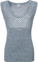 Vivienne Westwood Man - 'Bruce' knit vest - men - Cotton/Linen/Flax/Polyamide - S