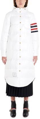 Thom Browne 4-Bar Hooded Puffer Coat