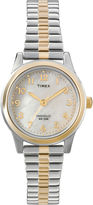 Timex Womens Mother-of-Pearl Expansion Watch