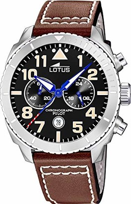 Lotus Men's Analogue Quartz Watch with Real Leather Strap 18705/3