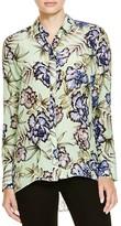 Alice + Olivia Aravi Floral Button-Down Shirt