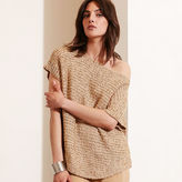 Ralph Lauren Short-Sleeve Boatneck Sweater