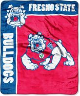 Bed Bath & Beyond Fresno State University Raschel Throw Blanket
