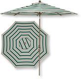 L.L. Bean Market Umbrella, Aluminum Frame Stripe