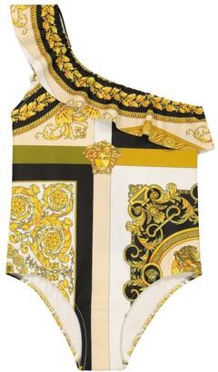 Versace Kids Barocco Mosaic swimsuit