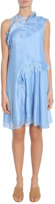 Carven Ruffled Mini Dress