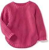 Old Navy Curved-Hem Sweater for Toddler