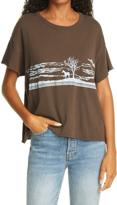 The Great Old West Crop Graphic Tee