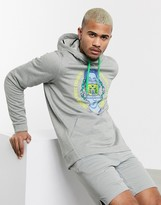 David and Goliath Nike Training thermo hoodie in grey