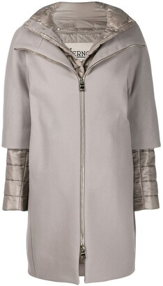 Herno two-in-one coat