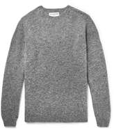 Officine Generale - Mélange Shetland Wool Sweater