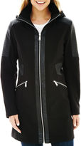 Avanti Zip-Front Softshell Moto Jacket