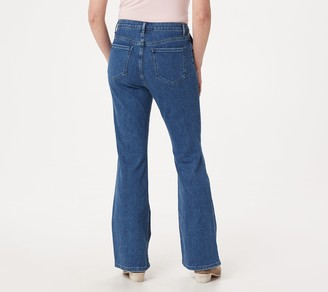 BROOKE SHIELDS Timeless Tall Flare Jeans -Indigo