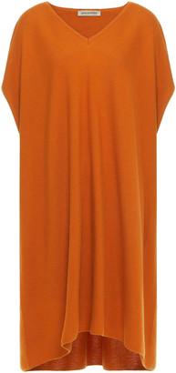 Gentry Portofino Gentryportofino Cotton And Cashmere-blend Mini Dress