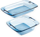 Pyrex 2-Pc. Atlantic Blue Bakeware Value Pack
