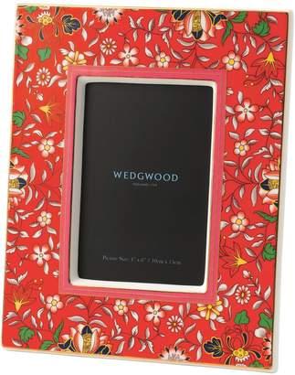 Wedgwood Wonderlust Crimson Jewel Photo Frame