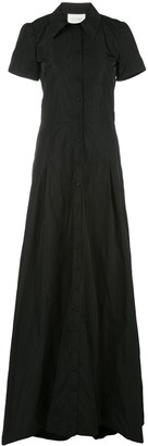 Alexis Felicity short sleeve long gown