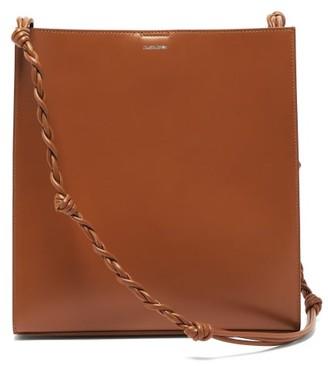 Jil Sander Tangle Braided-strap Leather Shoulder Bag - Womens - Tan