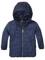 Tommy Hilfiger Big Girl's Th Kids Quilted Star Jacket
