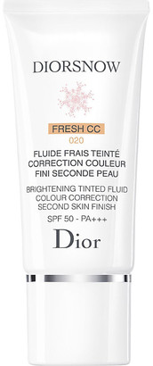 Christian Dior Diorsnow Brightening Tinted Fluid Colour Correction Second Skin Finish SPF50 PA++++ 30ml