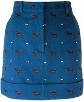Thom Browne dachshund skirt - women - Silk/Wool - 40