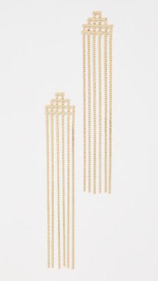 Jules Smith Designs Disco Fringe Earrings