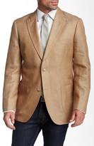 Kroon Brown Two Button Notch Lapel Sport Coat