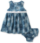 Calvin Klein Two-Piece Chambray Dress and Bloomers Set