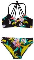 Gossip Girl Girl's 'Paradiso' Print Two-Piece Swimsuit