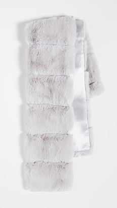 Adrienne Landau Faux Fur Pull Thru Scarf