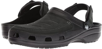 Crocs Yukon Vista Clog (Black/Black) Men's Clog Shoes