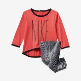 Nike Dry Sport Essentials Crossover Infant Girls' Tunic/Legging Set