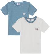 Petit Bateau Set of 2 boys T-shirts