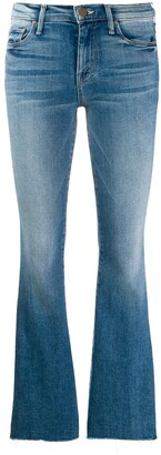 Mother Flared Fitted Jeans